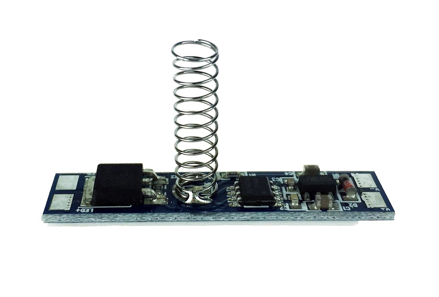 Berge Dotykový spínač se stmívačem pro LED pásky 5A 60W, montáž do ALU profilu